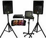 Karaoke and PA system rentals